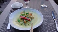 Green Curry @ Siam House @ Montparnasse @ Paris (*_*) Tags: paris france europe food montparnasse september 2016 summer asian thai thailand green curry sweet sauce rice