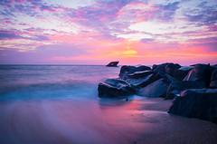 Endless Summer (RB Quattro) Tags: beach summer longexposure golden hour goldenhour nikon ocean landscape nikontop shipwreck capemay