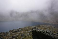 Rissajavri/Trollsjn in the mist (Madde Elg) Tags: rissajavri trollsjn krkevagge geargevaggi lapland lappland norrbotten sapmi mist dimma fjllsj mountainlake