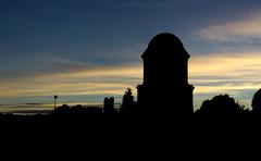 Mausoleum (AlanaLouiseBowmanPhotography) Tags: mausoleum hamilton lanarkshire scotland sillohuette sunset
