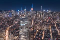 56 Leonard Street_ (RBudhu) Tags: 432parkavenue 56leonardstreet bankofamericatower chryslerbuilding cityscape em longexposure midtown newyorkcity