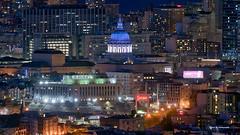 City Hall Night Colors - San Francisco (davidyuweb) Tags: city hall night colors san francisco cityhall sanfrancisco sfist luckysnapshot