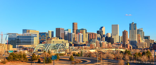 City Skyline of Denver Colorado