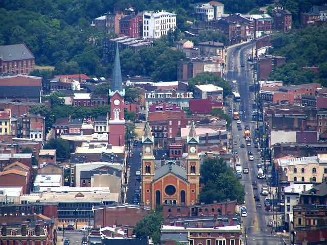 Cincinnati From Above #19: St. Francis Church