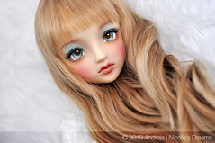 Preview - Volks SD DWC #2 for Sugarlump extra (***Andreja***) Tags: 2 ball one doll ooak super kind sd 02 dreams bjd dollfie volks dwc jointed repaint andreja nicolles 2013