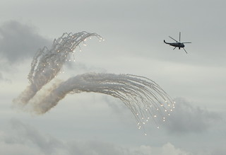 IR Flares from a Sea KIng