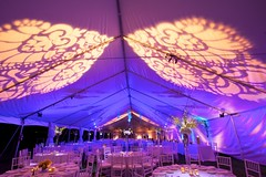 Pattern Projection - Tent Lighting
