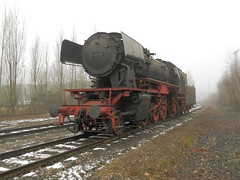 stoomloc 23 058(Emmerich 16-2-2013)5 (Ronnie Venhorst) Tags: modern train star am br zug db steam 23 trein dlm dampf stoomtrein emmerich hauenstein friese 058 stoomlocomotief baureihe maatschappij br23 stoomloc fstm stroomtrein