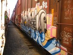 (VDub (o\I/o)) Tags: california ca railroad art train graffiti paint central tracks railway trains tags spray railcar spraypaint boxcar graff aerosol hindu tagging freight boxcars ridged gtb trackside csx freights ttx rbox railart railbox railside benching fbox hindue