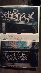Peep Dis!!! (InksOne) Tags: streetart grey graffiti respect albuquerque 98 legends jolt trainyard