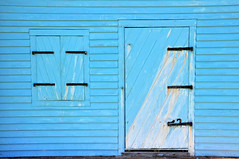 Blue (Greg Foster Photography) Tags: wood blue mobile coast wooden nikon doors phone alabama cell coastal galaxy oxidation s3 stressed gulfshores fortmorgan d90 gs3 instagram iloveyouwhen