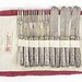 190. Set of (12) Fruit Forks and Knives with Sterling Handles