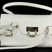 3003. White Leather Shoulderbag, Salvatore Ferragamo