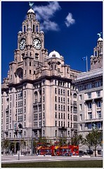 Pier Head Liverpool 2005 (jimps123) Tags: film fuji slidefilm dynax liverbird mersey scouse liverpol minolta700si