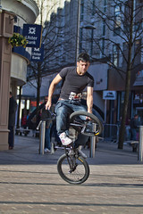 11 (snappitt photography) Tags: family people kids fun dance bmx candid streetphotography bikes belfast entertainment acrobatics cornmarket snappitt backinbelfast