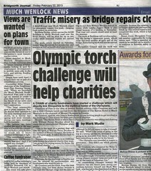 MWNP - Bridgnorth Journal 22nd February 2013 - Pre-submission consultation (Much Wenlock Neighbourhood Plan) Tags: shropshire muchwenlock muchwenlockneighbourhoodplan mwnp