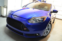 2013 Ford Focus ST (aowheels) Tags: new blue detail ford glass car orlando nikon wheels trim protection prep polished treatment detailing coating focusst 2013 d7000 paintcorrection aowheels 22ple