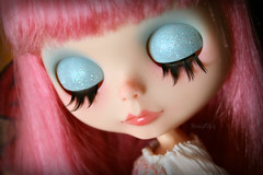 Scarlet's eyelids :)