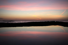 (DhkZ) Tags: ocean sunset reflection nature bahamas nassau tidalpool ze delaporte distagont235 zeiss35mmf2 canon5dii