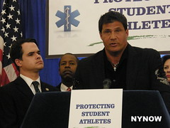 Jose Canseco (New York NOW) Tags: david star baseball jose drugs conference press allstar carlucci steroids canseco