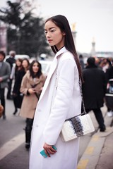 PFW march 5th 2013 - Chanel Model (Marie-Paola Bertrand-Hillion) Tags: paris france fashion photography week parisfashionweek fashionweek streetstyle pfw 2013
