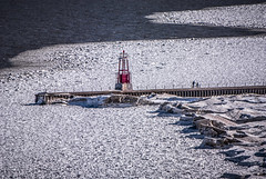 Still Icy (Flipped Out) Tags: chicago lakemichigan edgewater groin