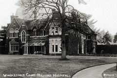 Windlesham Court Military Hospital (robmcrorie) Tags: world history court hospital army war published postcard military first surrey patient health national doctor nhs series service british nurse ww1 1914 healthcare 1918 publisher bagshot vad auxiliary windlesham mynors