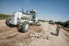 2013_01_24_Afgooye_Road_Grading d (AMISOM Public Information) Tags: somalia reconstruction mogadishu afgooye amisom