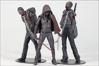 McFarlane Toys - 「陰屍路」黑白血腥米瓊恩三人包