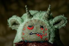 Zombie monster hat (Bazangi) Tags: hat monster doll bjd abjd