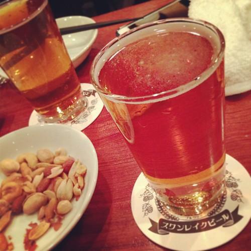 ノースアイランドビール Masaji Pale Ale。爽やか!苦味は瓶よりないかな? #おおきに大下社長