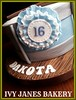 DRUM (ROSETTE) (Ivy Jane's Bakery) Tags: girls music cake drum rosette