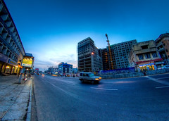 (AravindiA) Tags: india evening twilight hour chennai 8mm hdr tamilnadu annasalai mountroad samyang tonemapping samyang8mmf35asphericalifmcfisheye sonyalphaslta37