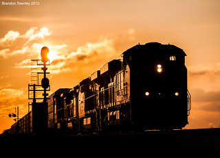 CSX Q359 at Sunrise Near Marion, Ohio
