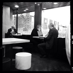 business #lunch #mcd #suits #businessmen #mono... (5foot8) Tags: bw mobile lunch mono newspaper suits interior laptop working business sales mcd businessmen uploaded:by=flickstagram instagram:venue_name=mcdonald27s instagram:venue=6605457 instagram:photo=384617269929356530216962