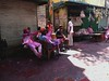 Holi Festival @ Sonagachi - Red Light District, Calcutta (roberta mezzelani - theblueplaysuit) Tags: india holi kolkata calcutta holifestival sonagachi