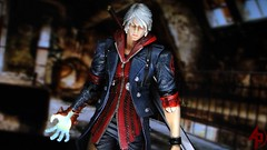 Devil May Cry 4 (advocatepinoy) Tags: dante collection comicbooks squareenix nero demons dioramas shortfilms iwo vergil playstation3 devilmaycry devilmaycry4 toyphotography playarts acba toyreviews dantedevilmaycry playartskai articulatedcomicbookart advocatepinoy advocate928 pinoytoykolektors