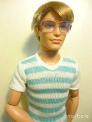 nate (May Belle Dolls) Tags: toy doll boneco mattel barbie ken kendoll barbiefashionistas fashionistas glasses nate nerd maybelledollscollection ©maybelledolls