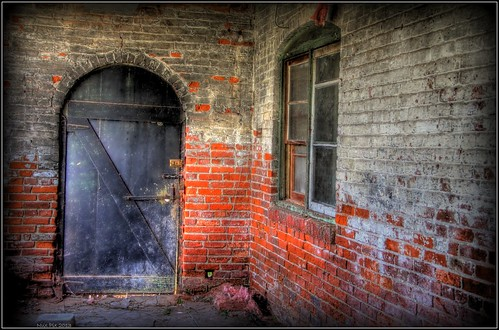 Dungeon Door HDR