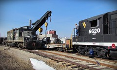 """Vermilion Valley - """"ERWIN"""" (Jesse B - IL) Tags: railroad ic illinois gulf central rr v louisville pal paducah erwin icg 8310 5620 ibcx vvrr"""