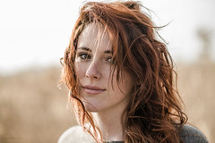 A windy day (Alessio Albi) Tags: portrait beauty face nikon redhead 18 85 ritratto d600