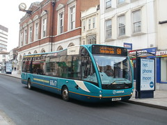 Arriva Kent and Sussex 4218 - KX61 LFS (Berkshire bus pics) Tags: sussex kent versa maidstone arriva 4218 optare kx61lfs