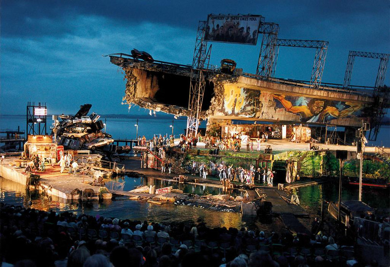 Floating Stage Bregenz