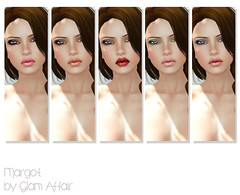 - Margot - (make-ups) (FlowerDucatillon) Tags: flower fashion skin secondlife lelutka glamaffair slupergirls flowerducatillon collabor88 collabor