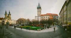 Staromstsk Nmst (Fuzztoner) Tags: panorama square czech pano sony sonnar carlzeiss rx100 vsco vscofilm dscrx100 sonyrx100