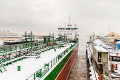 Thun Gemini at Falkvarv drydock