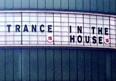 Trance in the house (Bruce Poole) Tags: signs cinema movie advertising pub 15 hoarding april movies publicity trance cornerhouse publicite iphone picturehouse inthehouse 2013 brucepoole