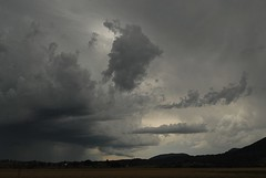 Storm moves northeast (dustaway) Tags: storm nature clouds landscape countryside scenery australia nsw storms cloudscape ruralaustralia northernrivers rurallandscape australianweather therebeastormabrewin australianstorms