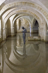 The Crypt...Winchester Cathedral (Chris Wood 1954) Tags: art memorial cathedrals statues winchester artyfarty winchestercathedral