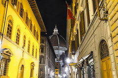 The Bright Lights and Stunning Views of Vei Dei Servi (lncgriffin) Tags: longexposure travel florence nikon firenze duomo 1424mmf28g d7000 photographyforrecreation